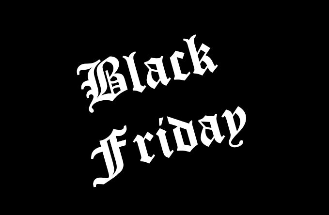 BLACK FRIDAY / BLACK WEEK 20.11. – 4.12.2020