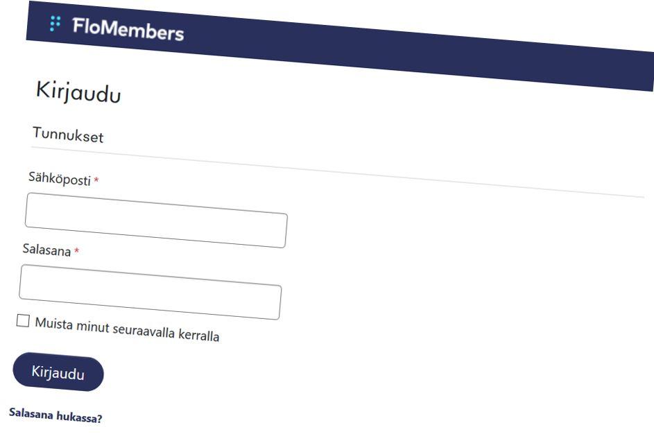 Käyttökatko VRF jäsenosioon kirjautumisessa