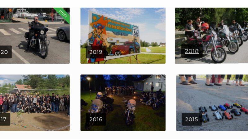 Vulcan Riders Finland kuvagalleria avattu